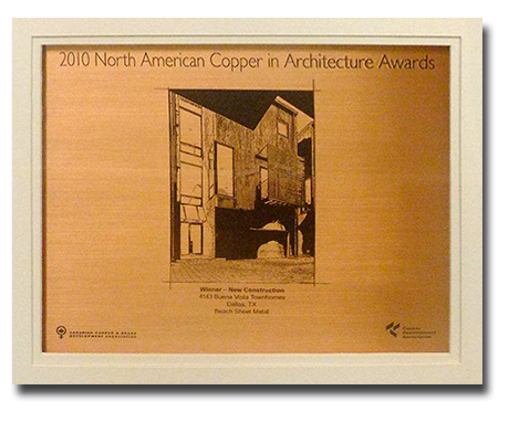 2010 NA Copper in Architecture Award
