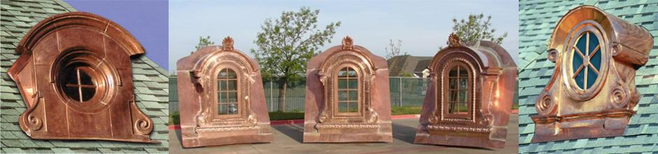 Custom Sheet Metal And Copper Dormers Finials Cupolas
