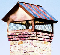 Gable Chimney Cap #73