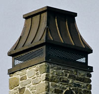 Westchester Chimney Cap #117