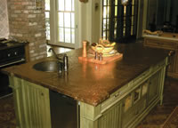 Copper Countertop #38