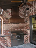 Harris Outdoor Vent Hood #124